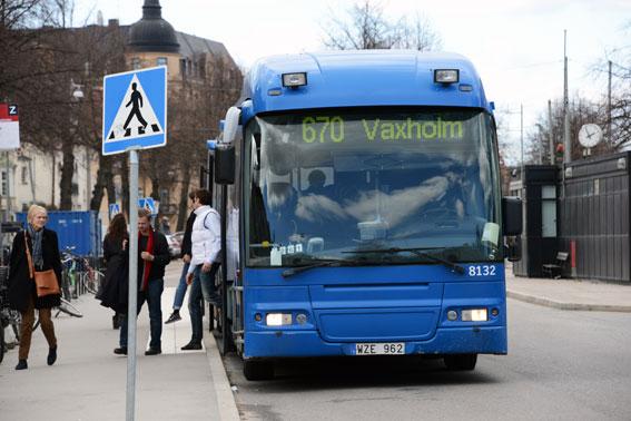 Resenärerna sviker SL-trafiken. Biljettintäkterna lever inte alls upp till budget. Foto: Ulo Maasing.