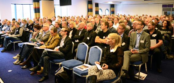Närmare 220 personer deltog i den konferens om fordonsbränder som SP arrangerade. Foto: Ulo Maasing.