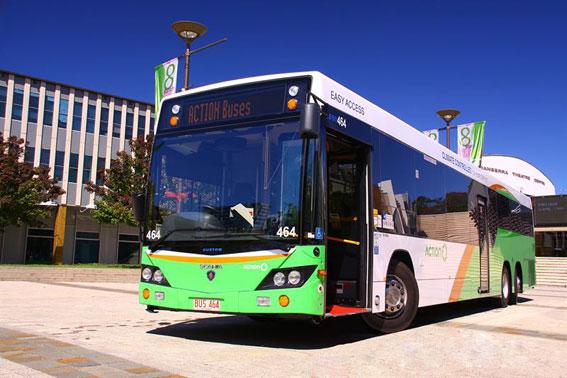 Scania har fått en order på de första Euro-6-utrustade stadsbussarna i Australien. Foto: Scania.
