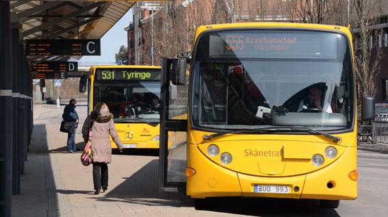 En IT-attack i september kostade Skånetrafiken fem miljoner kronor. Foto: Ulo Maasing.