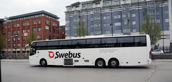 Swebus testar snabbare och komfortablare bussresor. Foto: Ulo Maasing.