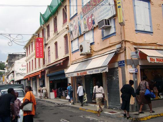 Forte de France, huvudstad på Martinique. Nu får ön Karibiens första BRT-system. Foto via Wikimedia Commons.