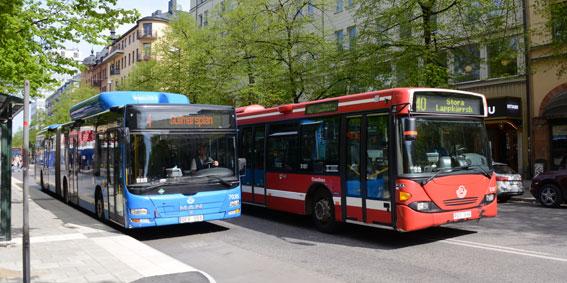 Kostnaderna för busstrafiken i Storstockholm rusar i höjden utan att resenärerna blir fler. Foto: Ulo Maasing.