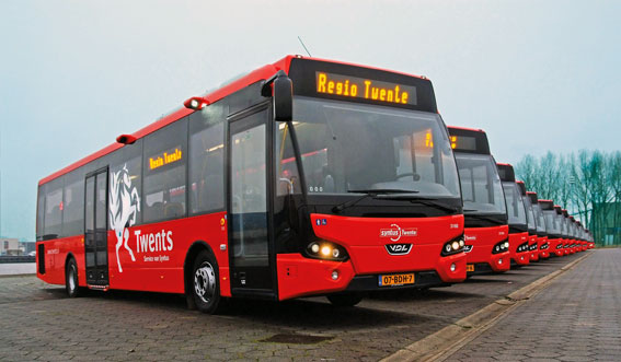 VDL har levererat en stororder till Keolis holländska bolag Syntus. Foto: VDL.