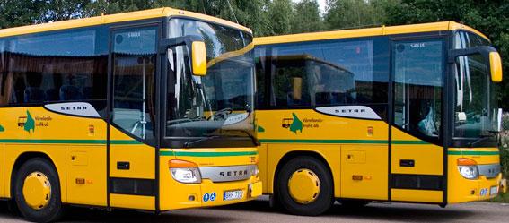 Värmlandstrafik förbättrar störningsinformationen. Foto: Värmlandstrafik.