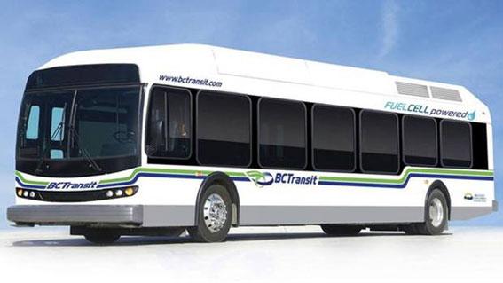 De 20 bränslecellsbussar som körts av BC Transit i Whistler, Kanada, ska tas ur drift. Bild: Ballard.