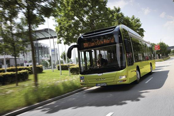 MAN har fått en stororder på bussar från Keolis. Foto: MAN.