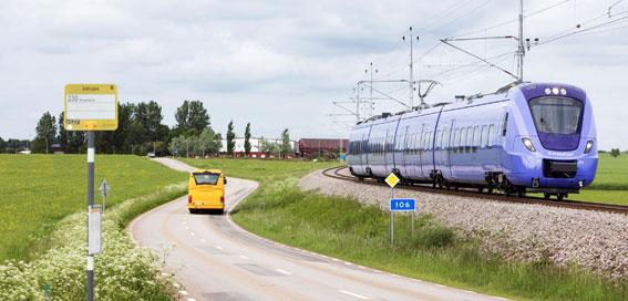 Skånetrafikens appbiljett gäller numera också vid resor över länsgräns. Foto: Kasper Duzik.