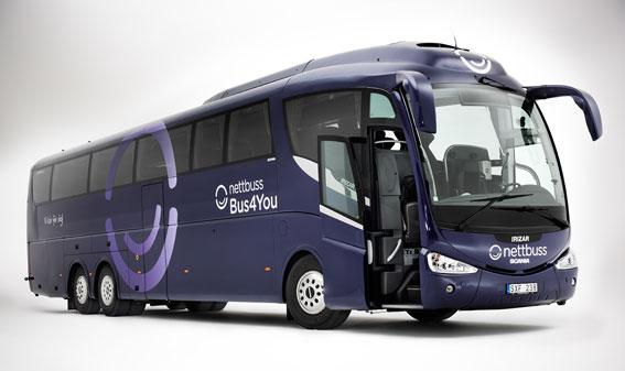 I september öppnar Bus4you sin nya linje mellan Oslo och Stockholm.