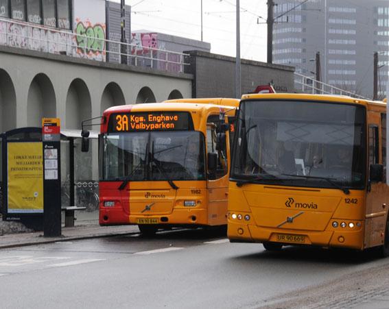 Ett utvecklingsprojekt i Köpenhamn siktar på att äldre dieselbussar ska klara Euro 6-normerna för emissioner. Foto: Ulo Maasing.