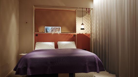Rummen blir kompakta, 12-13 kvadratmeter.