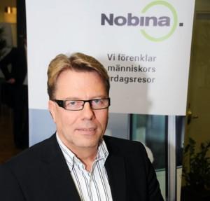 Nobina Sveriges vd Jan Bosaeus. Foto: Ulo Maasing.
