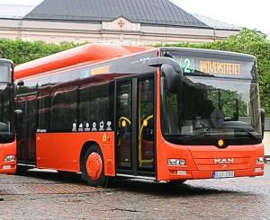 Inte så fossilfria som man kan tro. Foto: Karlstadsbuss.