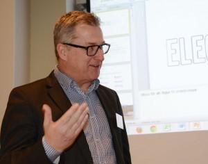 Leif Magnusson, Svensk Kollektivtrafik: Energi ska inte bara vara förnyelsebar. Den ska också användas effektivt. Foto: Ulo Maasing.