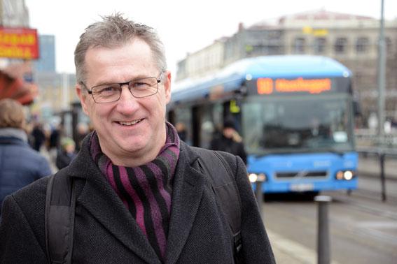 Leif Magnusson har lett arbetet med branschens uppdaterade, gemensamma miljöprogram. Foto: Ulo Maasing.