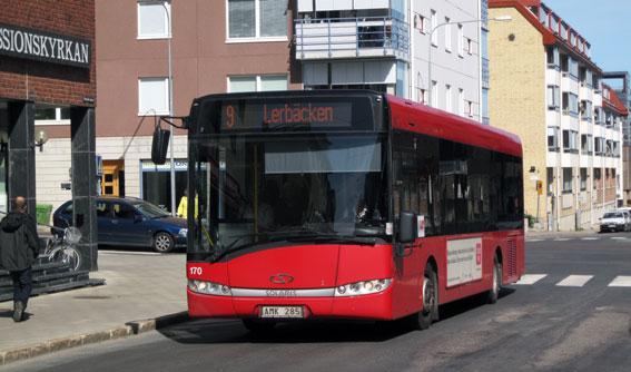 2013 blev ännu ett rekordår för Luleå Lokaltrafik. Foto: Ulo Maasing.