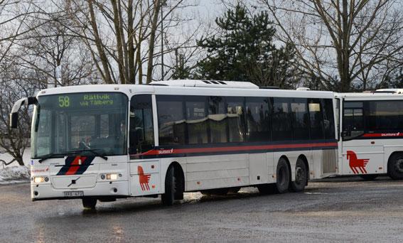 Det blåser kring kvaliteten på Nobinas bussar i Dalarna. Foto: Ulo Maasing.