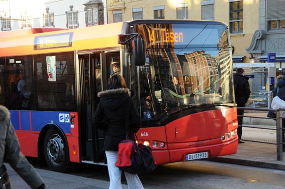 Snart ansluter sig Oslo till övriga Norge och gör det möjligt för studenter att få 40 procents rabatt i kollektivtrafiken. Foto: Ulo Maasing.