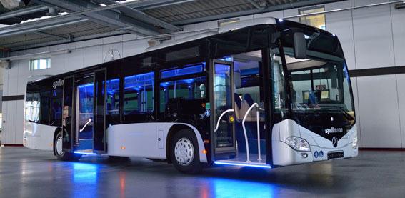 Ingen vanlig Mercedes-Benz Citaro. Foto: Daimler Buses.