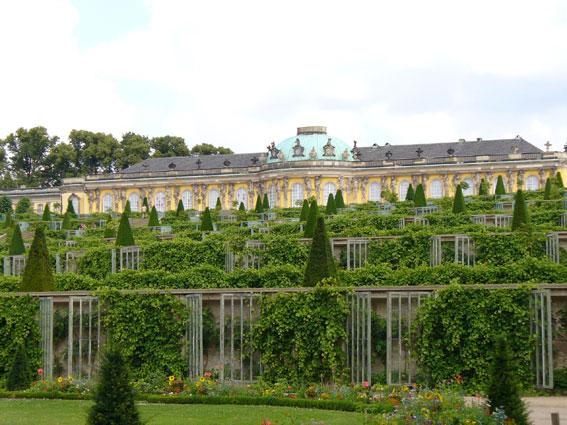 Ett av Tysklands världsarv, Sansoucci i Potsdam. Foto: Steffen Heilforth/Wikimedia Commons.