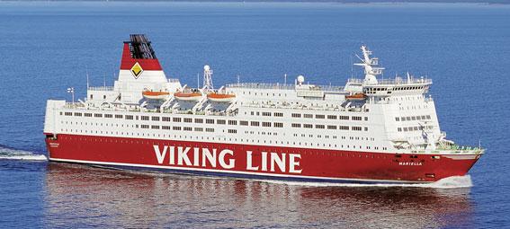 Viking Line har inlett MBL-förhandlingar om personalminskningar. Foto: Viking Line.