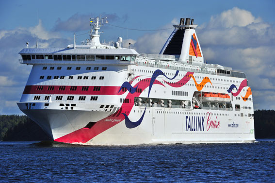Tallinks fartyg Baltic Queen. Foto: Tallink.