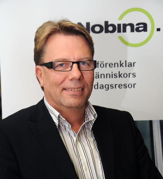 Nobina Sveriges vd Jan Bosæus får nobben av Dalatrafiks styrelse. Foto: Ulo Maasing.