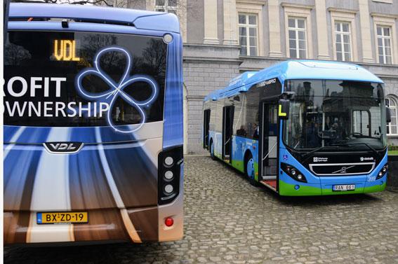 VDL deltar tillsammans med bland andra Volvo och Solaris i det stora europeiska elbussprojektet ZeEUS som lanserades tidigare i år. Foto: Ulo Maasing.