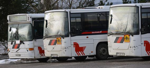 Turerna kring Dalatrafiks upphandling av busstrafik blir bara fler och fler… Foto: Ulo Maasing.