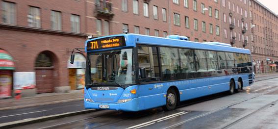 Det var inte bättre förr. Klotter, skadegörelse och annan vandalisering i kollektivtrafiken i Västra Götaland har minskat rejält. Foto: Ulo Maasing.
