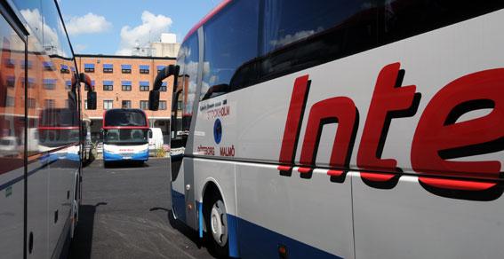 Interbus ska köra flygbusstrafiken åt uppstickaren Transferia. Foto: Ulo Maasing.