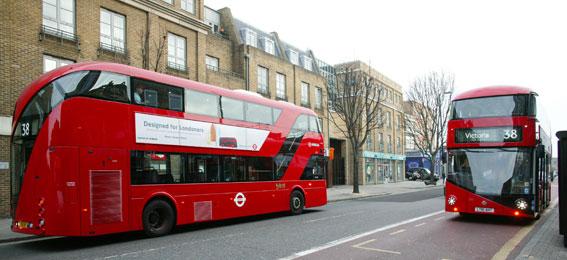 2014 är nu officiellt Bussens År i London. Foto: Transport for London.