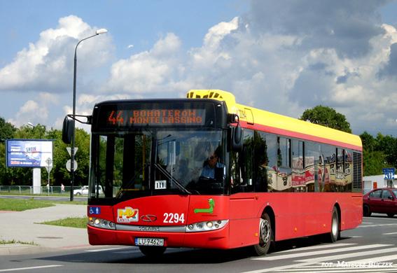 Stadsbuss i Lublin, Polen. Där satsar man nu på solceller på busstaken med svensk teknik för att spara bränsle och miljö.