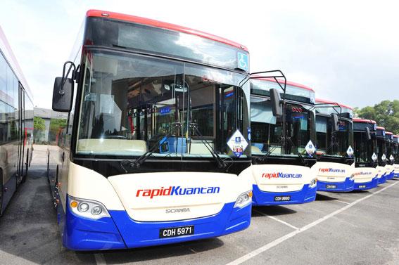 Scania har just levererat en stororder på 60 bussar till Malaysia.