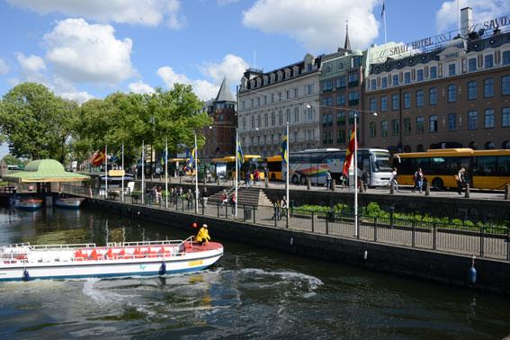 Malmö Centrum. Malmö kommun överklagar nu länsstyrelsens uppmärksammade beslut om miljözoner. Foto: Ulo Maasing.