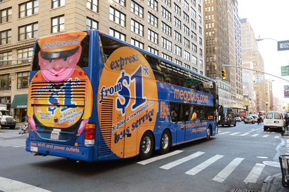 Den brittiska transportjätten Stagecoach växer vidare i USA med Megabus.com. Foto: Ulo Maasing.