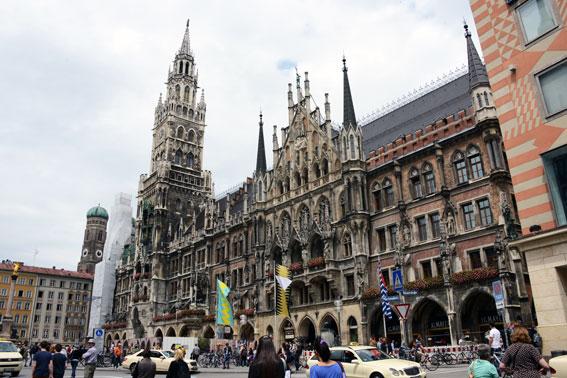 Bayern med huvudstaden München är den främsta destinationen för utländska turister i Tyskland. Foto: Ulo Maasing.