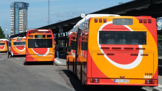 Resandet med tätortstrafiken i Linköping och Norrköping ökade kraftigt i fjol. Foto: Ulo Maasing.