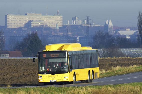 Förarna på Skånetrafikens regionbussar får toppbetyg av resenärerna. Foto: Kasper Dudzik.