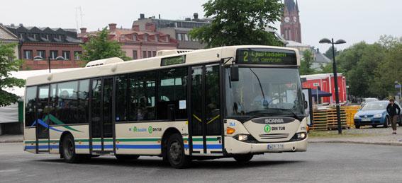 Keolis får trafik i Dalarna med 90 bussar. Sannolikt kommer man att flytta över en mängd bussar från Sundsvall där företaget har förlorat trafiken. Foto: Ulo Maasing.