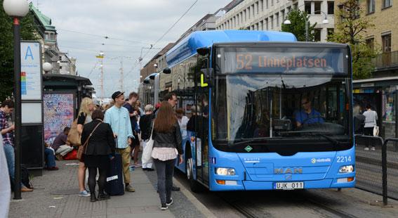 Att förenkla betalsystemet kommer att kosta Västtrafik 150 miljoner. Foto: Ulo Maasing.