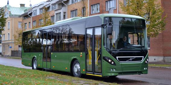 Volvo 8900 blev den mest sålda fullstora bussen i Danmark förra året. Foto: Volvo Bussar.