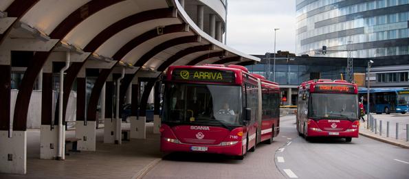 Arrivabussar