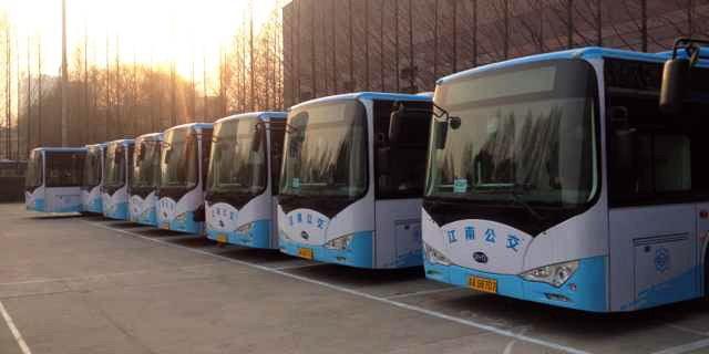 Kinesiska BYD har fått en jätteorder på över 600 batteribussar från en enda stad.