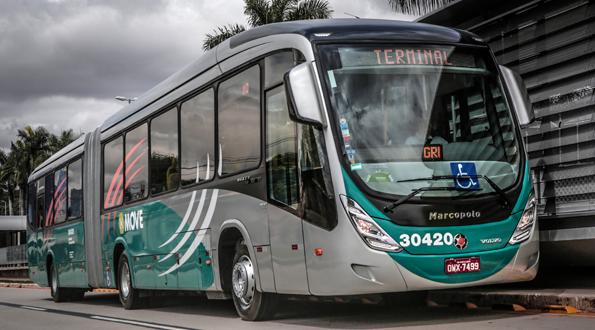 Volvo levererar 132 bussar till Move, BRT-systemet i Belo Horizonte, Brasilien. Foto: Volvo.