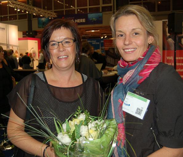 Prisade: Helene Bergh, MK Bussresor, Jessica Bäcker, Swebus. Fotograf Agneta Weissglas.