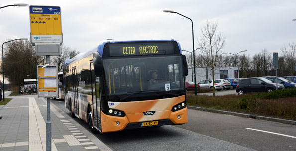 VDL Citea Electric börjar serietillverkas nästa år. Foto: Ulo Maasing.