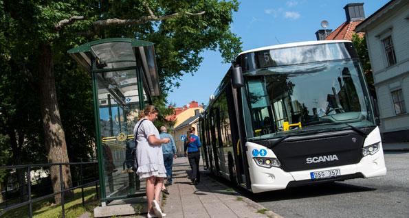 Försäljningen av Scanias stadsbuss Citywide går trögt. Foto: Scania.