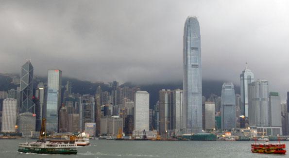 Hongkongs skyline. Foto: Ulo Maasing