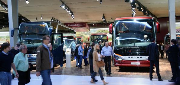 IAA-mässan i Hannover vidgar sig från att vara en utställning till att också bli ett karriärforum för fordonsindustrin. Foto: Ulo Maasing.